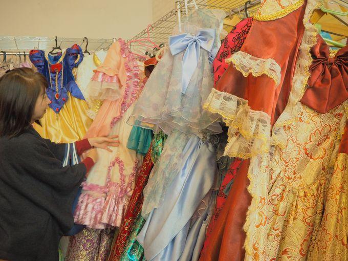 素敵なドレスにうっとり・・これもあれもって迷っちゃう
