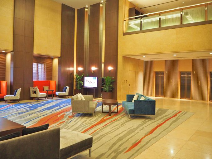平和大通りに面した25階建ての「三井ガーデンホテル広島」