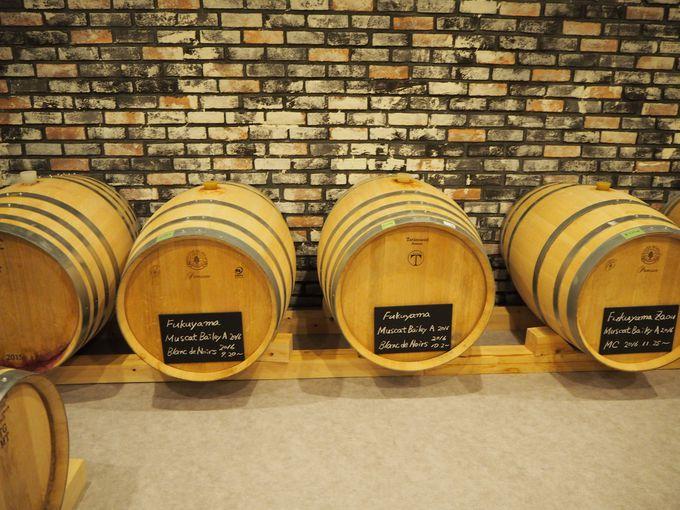 スパークリングワインで表現される福山や広島のブドウ