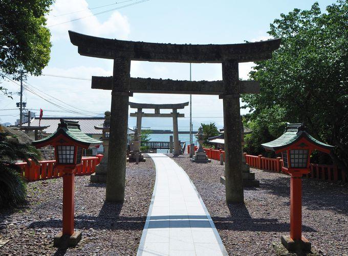 神守る島・大島〜宗像三女神への信仰の拠点・宗像大社中津宮へ