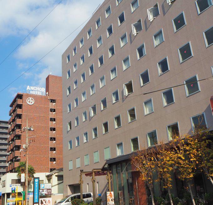 「福山オリエンタルホテル」での朝食や大浴場利用も魅力!