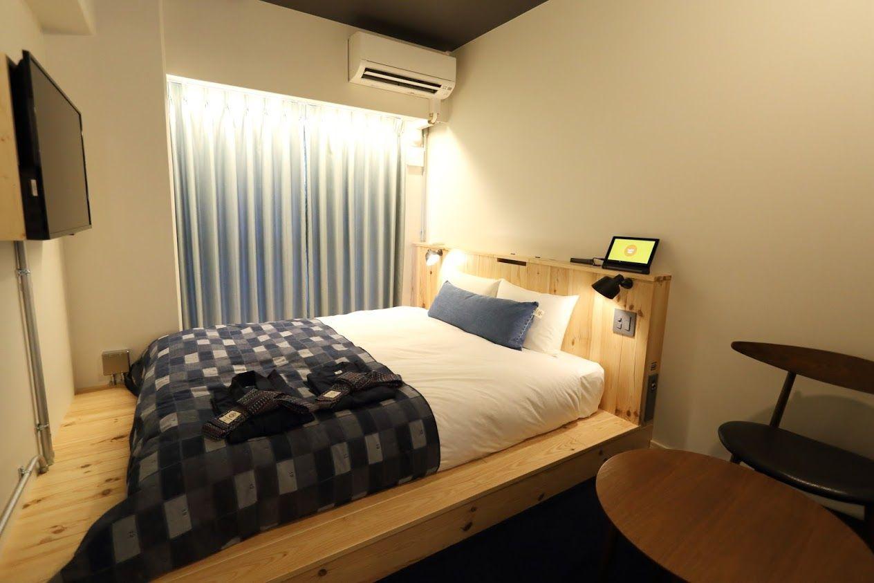 QWEEN BED ROOM〜気楽な一人旅からカップルまで