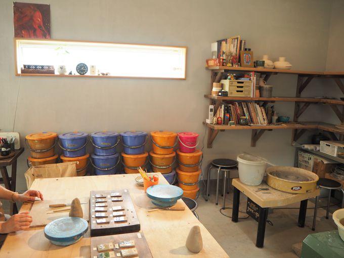 ポレポレスタイルで、のんびり楽しく陶芸体験も