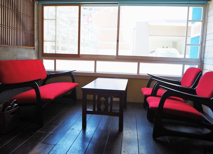 昔懐かしの日本家屋の佇まいは、親戚の家でくつろぐ感覚