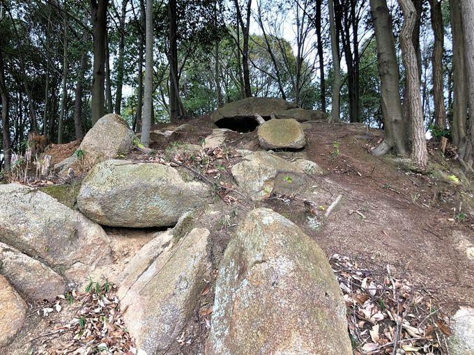 下御領古墳群と御領最大級の横穴式石室も