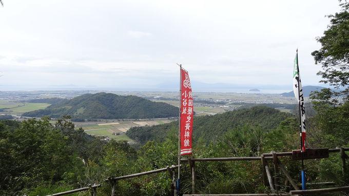 浅井家の住まいもあった清水谷のお屋敷跡も散策