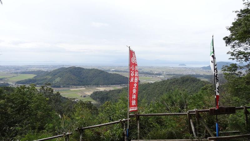 浅井三姉妹の生まれた城!滋賀・小谷城跡〜中世山城の見どころ