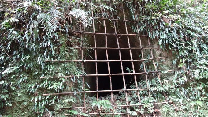 知覧城の散策は空堀からスタート