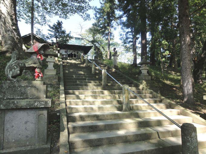 築城の歴史にあり!「鶴ヶ城稲荷神社」
