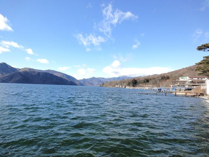 中禅寺湖の名前の由来となった「中禅寺」