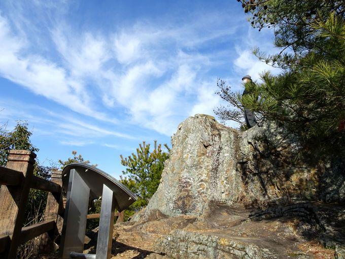 魅力4:見晴らし最高!眺望ポイントの一つ「天狗岩」