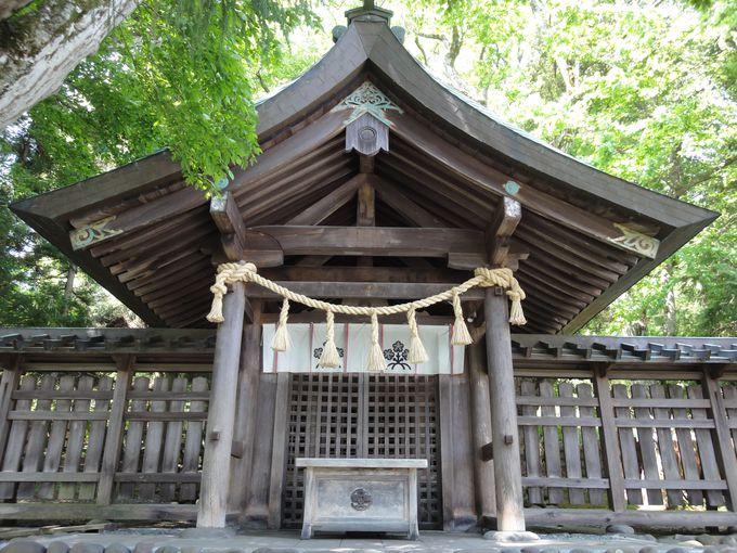 「諏訪大明神」の最初の居!上社前宮の本殿