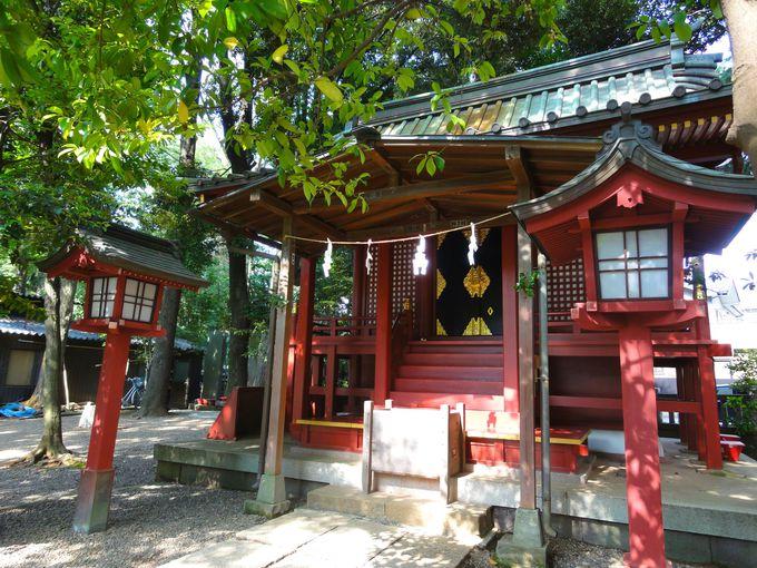 摂社「天津神社」に祀られている「少彦名命」は国造りの協力神