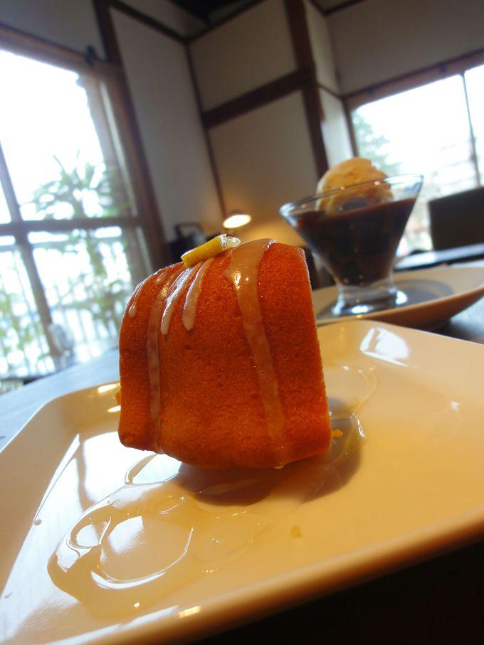 『福丸珈琲』で甘いスイーツを食べて♪