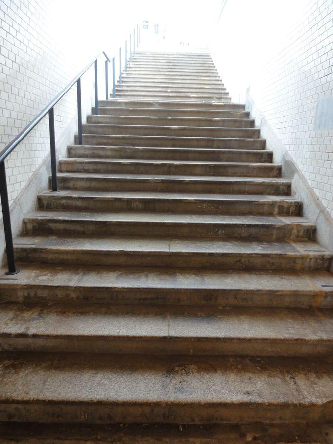 旧万世橋駅の「1912階段」
