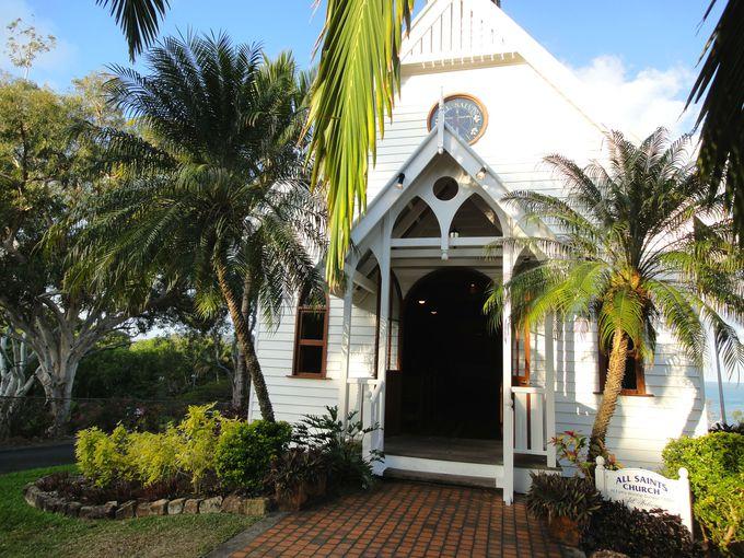 島内唯一の教会!