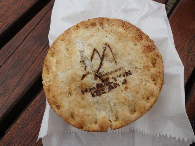 オーストラリアに来たら、ミートパイ食べないとね!
