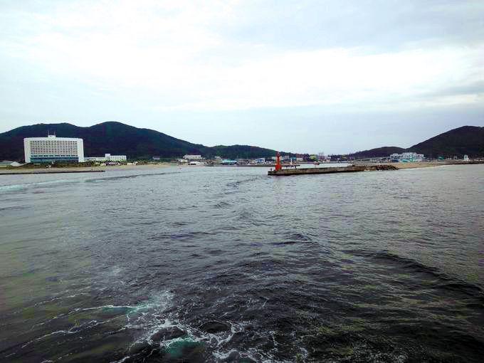 伊良湖岬からいざ出港!