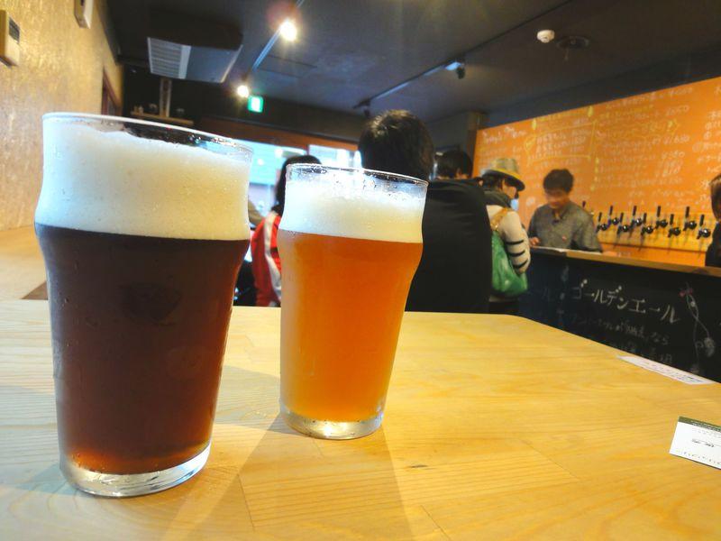 大宮・氷川参道わきにクラフトビール「氷川ブリュワリー」発見