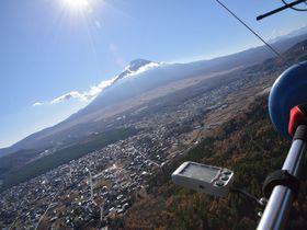 富士山!ハンググライダー!大興奮の空中飛行「忍野スカイスポーツ倶楽部」