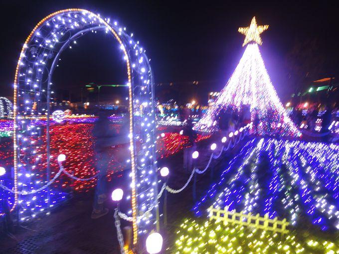 見どころその2:トッピー広場内にあるキラキラの星