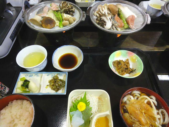 「果実の里 原田農園」で昼食タイム!