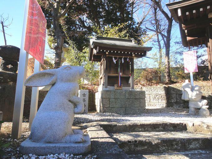 ご本殿(拝殿)の左横にある神社にも参拝しよう!