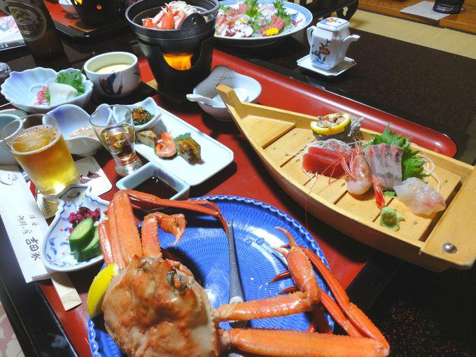日本海の海の幸を堪能!
