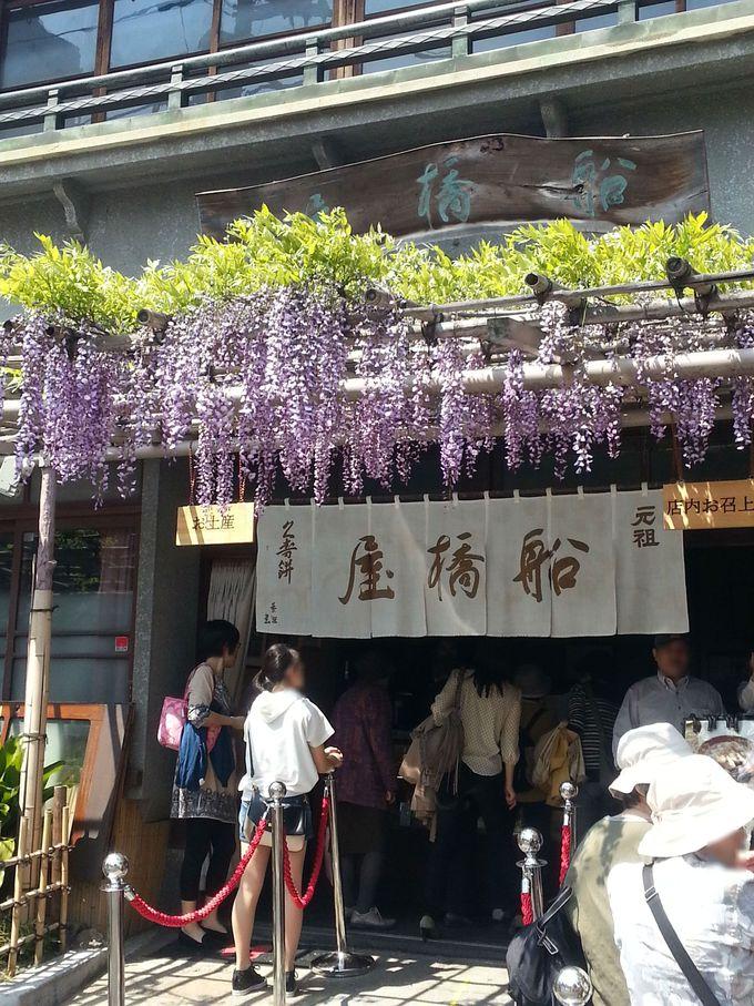 見どころ5:亀戸天神社に訪れたら「船橋屋」も外せない