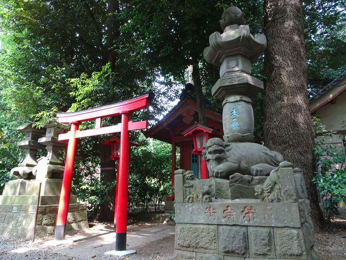 道開きの神様がお祀りされている! 「明戸庚神社」