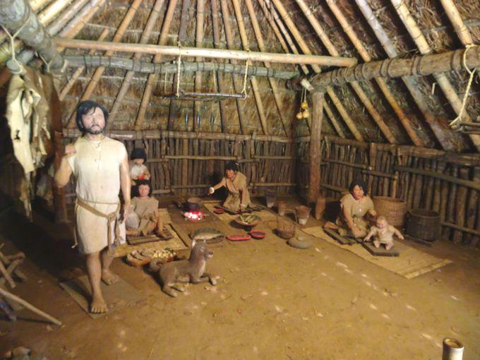 縄文時代の人々の暮らしが再現!