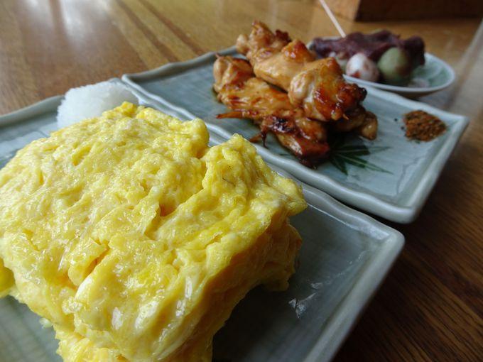 かならず食べたい! 太平山の三大名物「玉子焼き・焼き鳥・お団子」