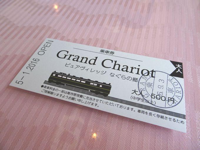 乗車券が発行され、電車に乗っている気分を味わえます
