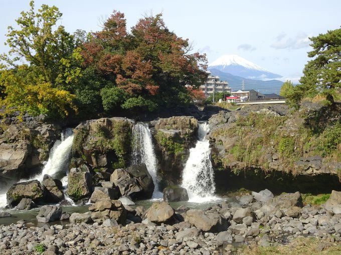 富士山の溶岩が長泉町まで流れてきたもう一つの証「鮎壺の滝」にも行ってみよう