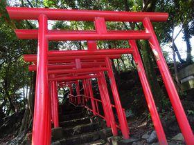 富士山の溶岩塚に建つレア神社!静岡・長泉町「割狐塚稲荷神社」のご利益&見どころ