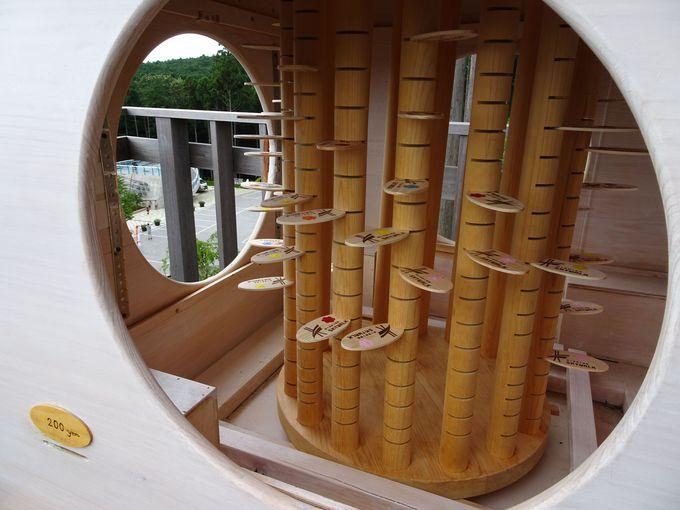 ポイント4:「展望デッキ」から、kicoroと大吊橋の組み合わせで撮影