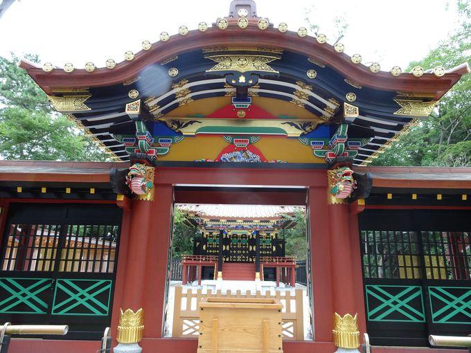 日本武尊・徳川家康公・秀忠公がお祀りされている「常磐神社」