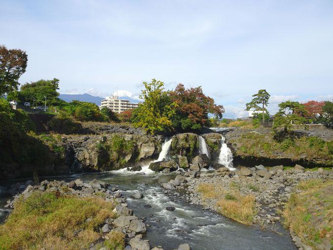 ポイント3:「鮎壺の架け橋」から眺めよう