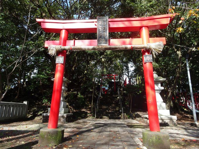 富士山の溶岩塚の上に!? 「割狐塚稲荷神社」は不思議なパワースポット