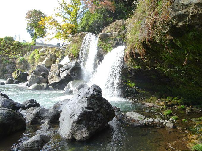 旅の始まりは・・・長泉町「鮎壺の滝」