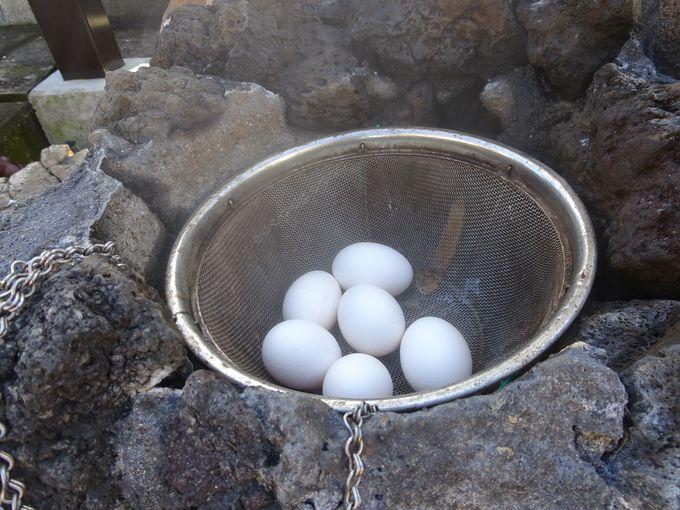 さっそく、温泉卵を作ってみよう!