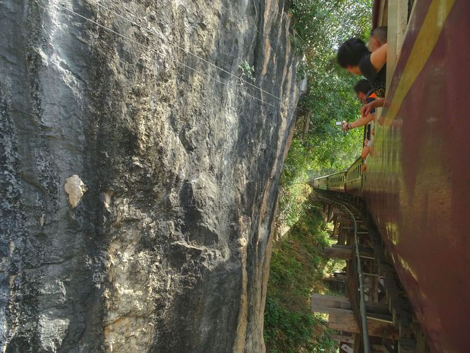 ポイント3:列車に乗車し、アルヒル桟道橋を体感!
