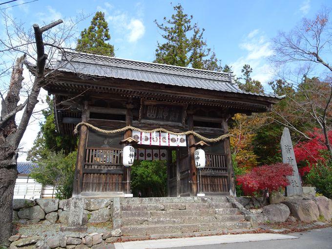修験道が盛んだった証!「熊野出速雄神社」