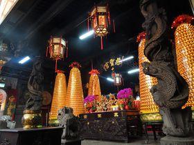 迪化街の最大最古寺院!台北「慈聖宮」は屋台グルメも楽しめる珍パワスポ