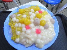 ピーナッツ×コーンのかき氷が名物!台北・西門町「揚記花生玉米冰」