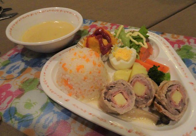 那須産の食材をふんだんに使った夕食