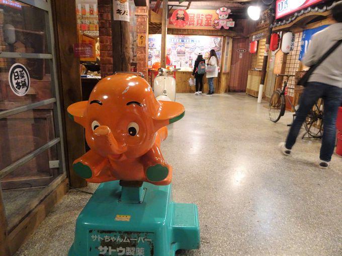 昭和の商店街がテーマの博物館