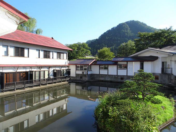 美湯美食の離れ宿「小野川温泉 河鹿荘」