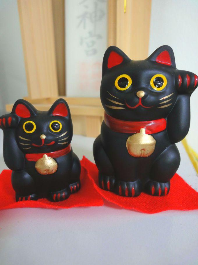 「すごいご利益がある」と評判の黒招き猫