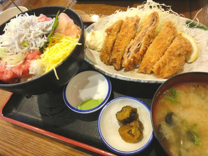 海鮮や重ねカツ、定食などが味わえる「海鮮や 海ぼうず」